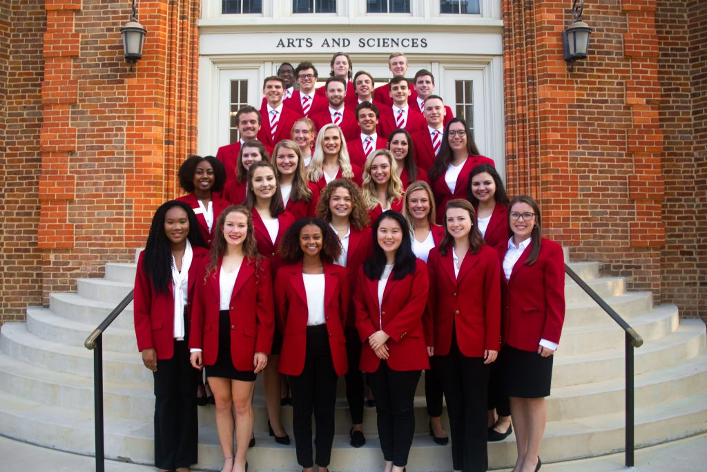 The 2019-2020 College of Arts and Sciences Ambassadors